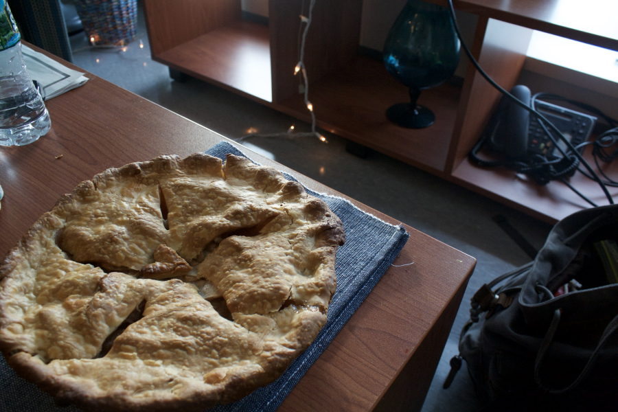 Classy Recipe: Homemade Golden Apple Pie