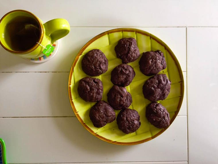 Dark Chocolate Ghiradelli Brownie Cookies